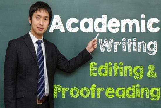 academic proofreading