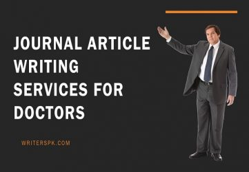 journal article writing services